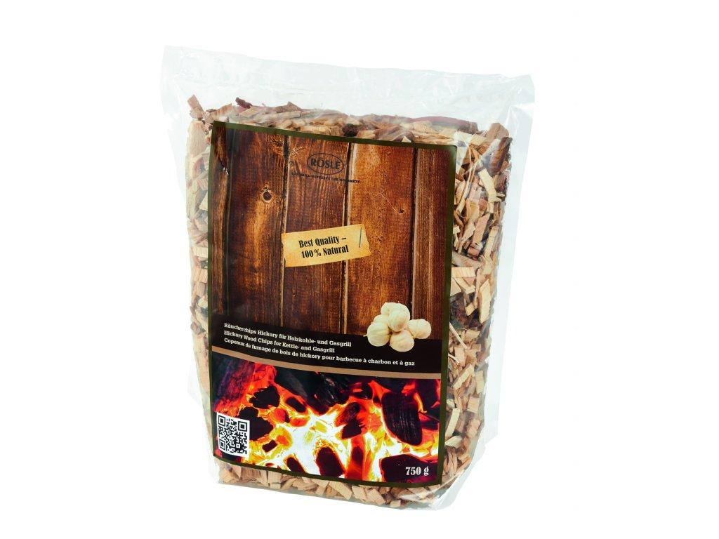 Dřevěné udící lupínky Hickory 750 g, RÖSLE