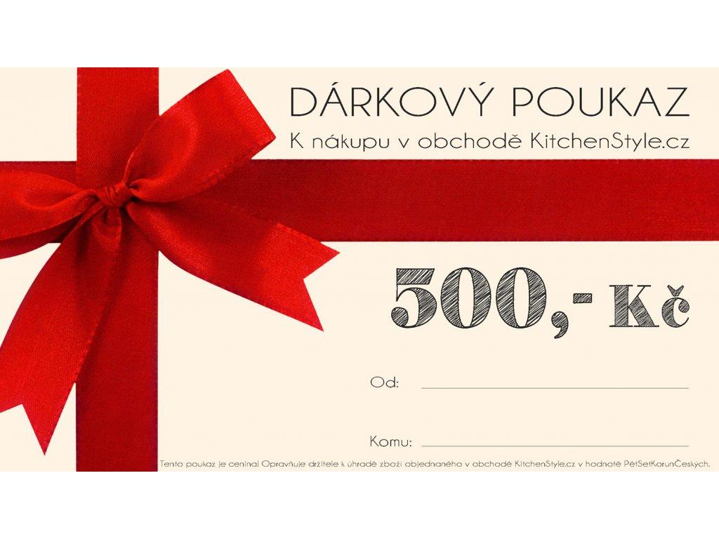 877 1 darkovy poukaz kitchenstyle v hodnote 500 kc