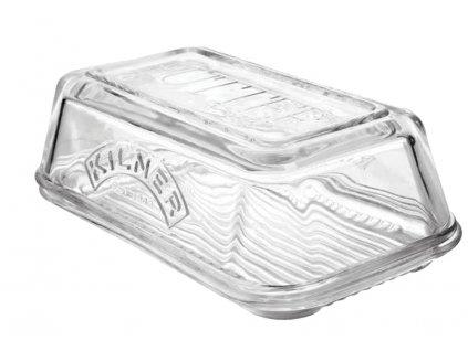 Dóza na máslo 17 x 10 cm, skleněná, KILNER