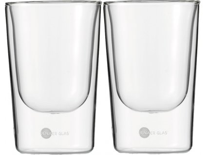 Set 2 ks termosklenic na Kávu 146ml,  Hot´n Cool, JENAER GLAS