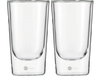 Set 2 ks termosklenic na Latte Macchiatto 355ml  Hot´n Cool, JENAER GLAS