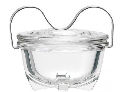 Varná miska na vejce, dezerty, 475ml, design Wilhelm Wagenfeld, JENAER GLAS