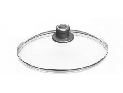 Skleněná poklice 32 cm z bezpečnostního skla, WOLL