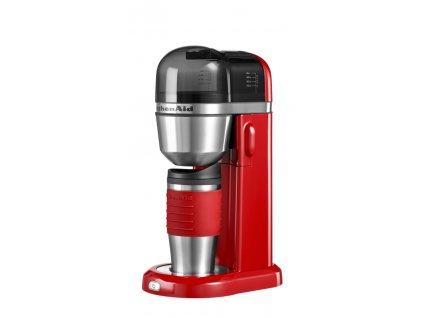 Osobní kávovar 5KCM0402, královská červená, KitchenAid