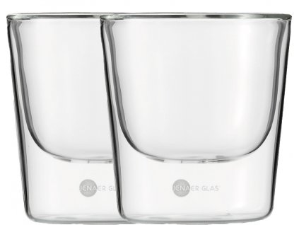 Set 2 ks termosklenic na Cappucino 190ml  Hot´n Cool, JENAER GLAS
