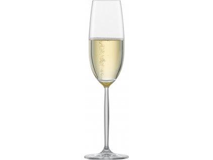 Křišťálové sklenice na SEKT, 219ml  6ks, DIVA, SCHOTT ZWIESEL