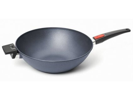 29042 2 panev wok 34 cm neprilnava s odnimatelnou rukojeti diamond lite woll