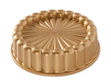 Forma na dort Charlotte zlatá 1,4 l, NORDIC WARE