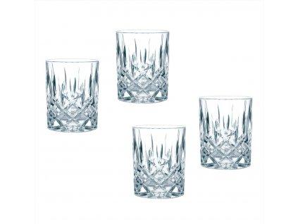 Křišťálové sklenice na Rum a Whisky Noblesse 4ks, 295 ml, Nachtmann
