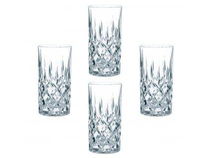 Křišťálové sklenice na Longdrink 4ks, 375 ml, Nachtmann NM89208 0