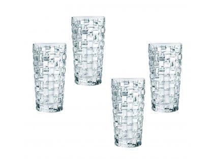 Křišťálové sklenice na Longdrink Bossa Nova 4ks, 395ml, Nachtmann