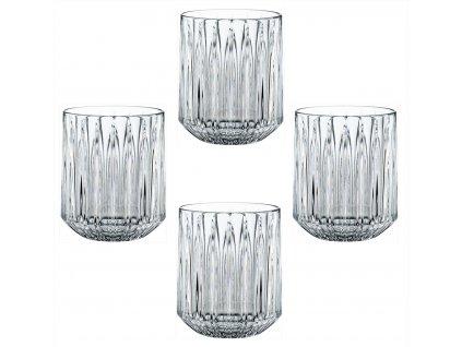 Křišťálové sklenice na Rum a Whisky Jules 4ks, 305 ml, Nachtmann