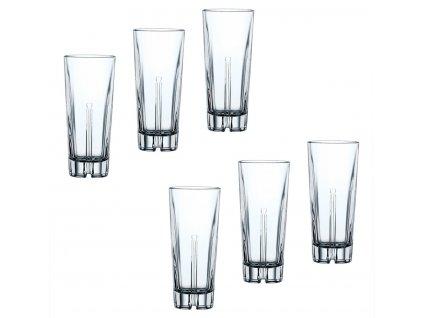 Křišťálové sklenice na Longdrink Havana 6ks, 366 ml, Nachtmann