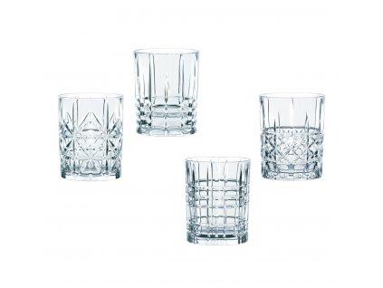 29705 kristalove sklenice na rum a whisky highland 4ks 345 ml nachtmann