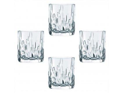 Křišťálové sklenice na Rum a Whisky Shu Fa 4ks, 330 ml, Nachtmann