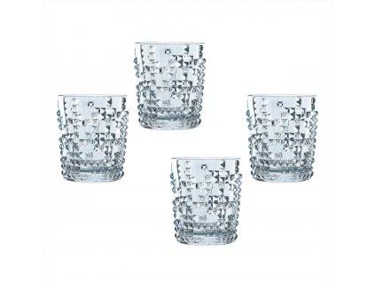 Křišťálové sklenice na Rum a Whisky Punk 4ks, 348 ml, Nachtmann