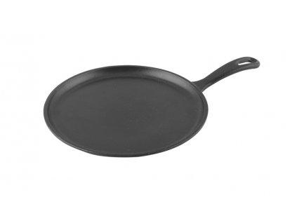 Pánev Palačinková litinová 26 cm černá, LAVA