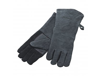 33158 3 kozene grilovaci rukavice 2ks rosle