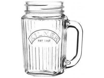3419 6 sklenice s uchem vintage 400ml dzbanek kilner