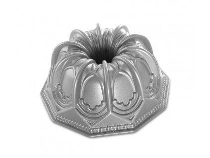 Forma na bábovku Katedrála stříbrná 2,13 l ,NORDIC WARE