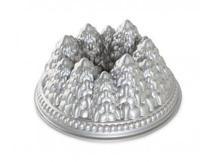 Forma na bábovku Les stříbrná 2,13 l ,NORDIC WARE