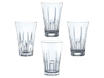 Křišťálové sklenice na Longdrink CLASSIX 4ks, 405 ml, Nachtmann