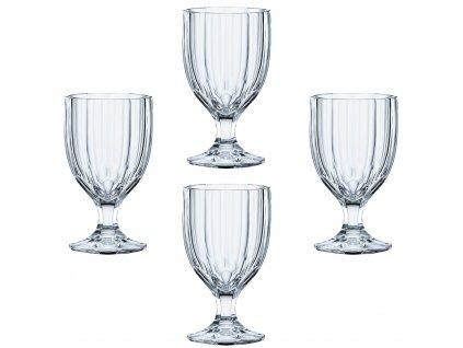 Křišťálové sklenice na stopce Aspen 4ks, 342 ml, Nachtmann