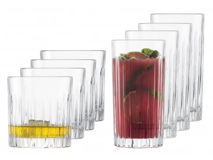 37538 sklenice na longdrink a rum nebo whisky stage 2x4ks cisty kristal schott zwiesel