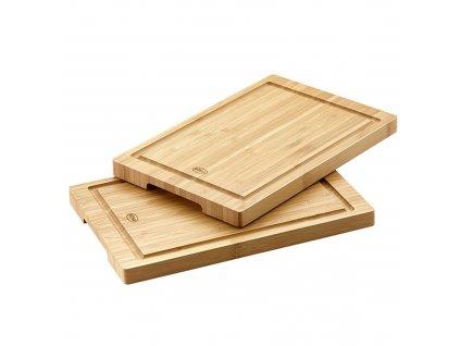 Prkénko kuchyňské set 2ks, bambusové 30x20 cm, RÖSLE