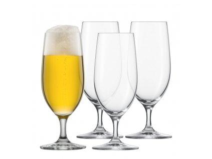 Křišťálové sklenice na Pivo, 370ml 4ks, CLASSICO, SCHOTT ZWIESEL