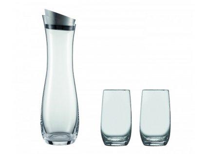 Karafa s výkyvnou klapkou 1000ml + 2 sklenice FRESCA, SCHOTT ZWIESEL