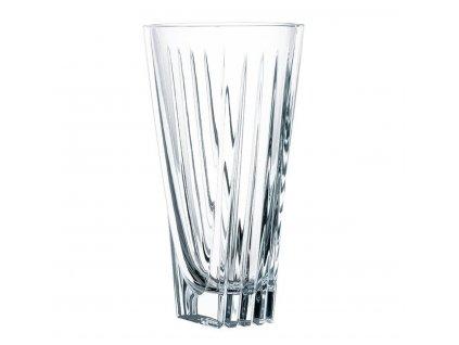 Křišťálová váza Art Deco 28 cm, Nachtmann