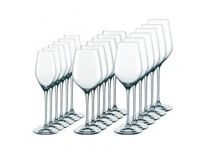 Sada křišťálových sklenic 18 ks 3 typy TOPLINE, SPIEGELAU