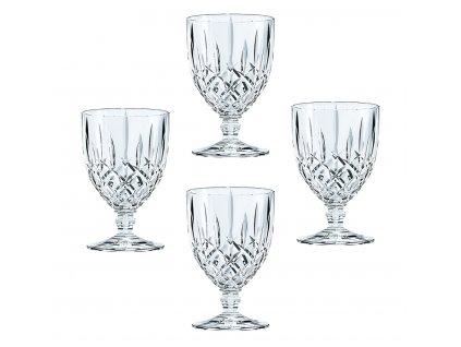 Křišťálové sklenice na stopce Noblesse 4ks, 230 ml, Nachtmann