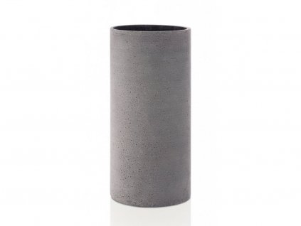 65627 Betonová váza COLUNA tmavě šedá 29 cm, BLOMUS