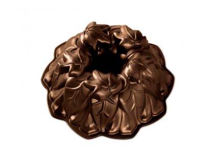 Forma na bábovku Lístky bronzová2,1 l ,NORDIC WARE