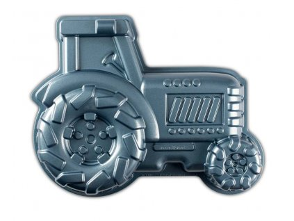 Forma na bábovku Traktor modrá 2 l , NORDIC WARE