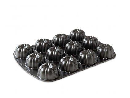 Forma na 12 brownies grafitová 1 l, NORDIC WARE
