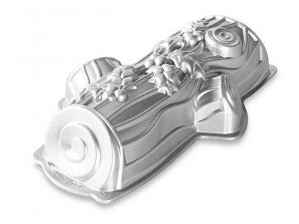 Forma na bábovku Kouzelné Polínko stříbrná 2,1 l ,NORDIC WARE