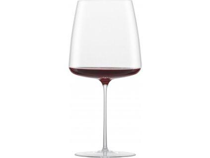 122056 Simplify sklenice na červené víno ručně foukaná