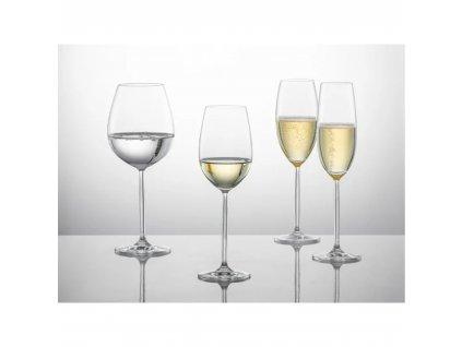 Křišťálové sklenice na SEKT, 219ml  2ks,  DIVA, SCHOTT ZWIESEL