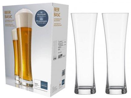 Sklenice na pivo 2ks 0,5 l, BEER BASIC, SCHOTT ZWIESEL