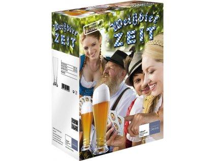 Dárková sada 2 Křišťálových sklenic na pšeničné pivo, 650ml  BAR SPECIAL, SCHOTT ZWIESEL