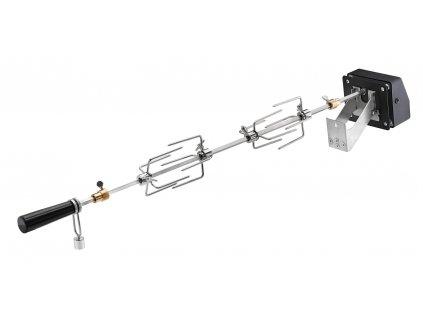 Grilovací otáčecí špíz elektrický ke grilům VIDERO G3/G4 nebo F60, RÖSLE