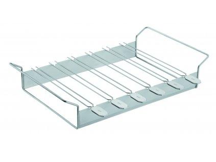 Grilovací špízy 46x27 cm, stojan se 6 ks, RÖSLE