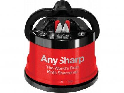 Brousek na nože červený, AnySharp