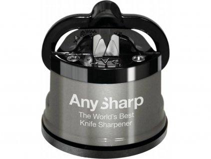 Brousek na nože šedý, AnySharp