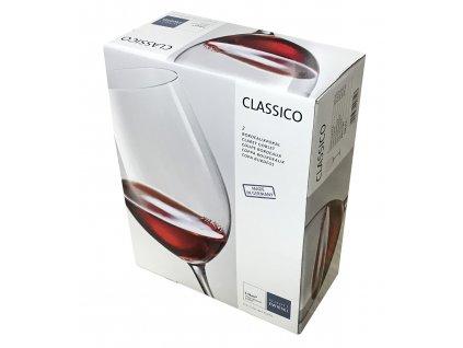 Dárková sada 2 křišťálových sklenic na červené víno, 645 ml  CLASSICO, SCHOTT ZWIESEL