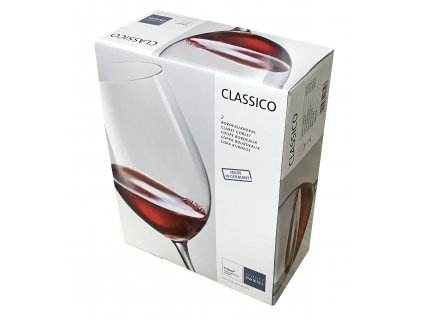 Křišťálové sklenice na červené víno BORDEAUX 2 ks 645 ml  CLASSICO, SCHOTT ZWIESEL