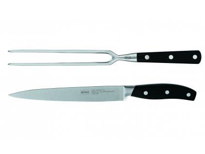 Porcovací sada na maso, nůž a vidlice CUISINE, RÖSLE